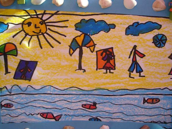 Kresby Deti Na Tema Prazdniny Predskolaci Omalovanky Pracovni