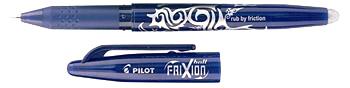 zpravy pracovni listy temata pracovni listy cinnosti  : FriXion barva 003 modra Pilot FriXion – chyby jako kouzlem zmizí!