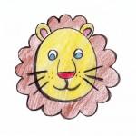zvirata letni vyrobky leto  : lev 150x150 Jedeme do ZOO