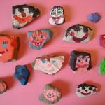 letni vyrobky leto  : malovane kameny 150x150 Malované kameny