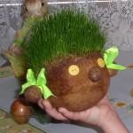 velikonoce vytvarna vychova jarni tvoreni  : vesela hlavicka 2 150x150 Veselá hlavička s vlasy