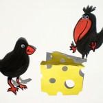 zvirata soutezeoceny papirove vytvory  : vrany a syr 150x150 Zdraví, sílu, najdeš v sýru