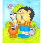 sluzby a cinnosti  : eva remisova 05 150x150 Kresby na stěny a ilustrace pro děti