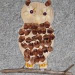 zvirata podzimni vyrobky podzim papirove vytvory  : sova 150x150 Sova