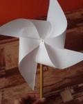 podzimni vyrobky podzim papirove vytvory  : vetrnicek 120x150 Vyrobte si s dětmi větrníček   logo klubu slaných dětí