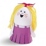 velikonoce vytvarna vychova  : velikonocni vejce holka 150x150 Velikonoční vejce   netradiční, ale zábavná