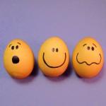 velikonoce vytvarna vychova  : velikonocni vejce smajlici 150x150 Velikonoční vejce   netradiční, ale zábavná