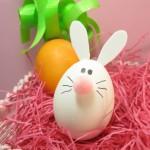 velikonoce vytvarna vychova  : velikonocni vejce zajicek 150x150 Velikonoční vejce   netradiční, ale zábavná