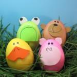 velikonoce vytvarna vychova  : velikonocni zviratka 150x150 Velikonoční vejce   netradiční, ale zábavná