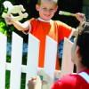 Dřevěný koník pro malé malíře