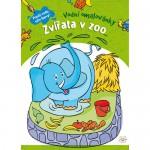 vodni omalovanky_zvirata v zoo