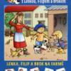 Lenka, Filip a Brok na farmě – Obrázkové čtení se samolepkami