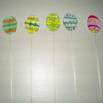 velikonoce vytvarna vychova jarni tvoreni  : velikonocni vajicka 150x150 Jarní zapichovátka do květináčů