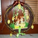 velikonoce vytvarna vychova  : velikonocni venecek 2 150x150 Velikonoční věneček