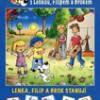 Lenka, Filip a Brok stanují – Obrázkové čtení se samolepkami