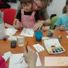 Akvarelový workshop pro rodiče s dětmi