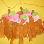 podzimni vyrobky podzim papirove vytvory  : jablka v misce 150x150 150x150 Vyrobte si s dětmi větrníček   logo klubu slaných dětí