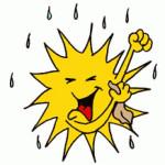 letni basnicky jarni basnicky  : slunicko se myje 150x150 150x150 Slunce svítí, oschly meze