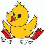 velikonocni svatky velikonoce vytvarna vychova  : vajicko kuratko 150x150 150x150 Postavička z vajíčka   holčička