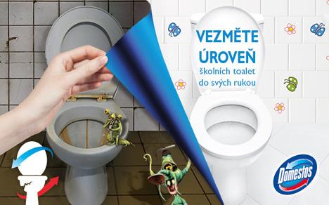 zpravy  : domestos Hygiena na českých školách