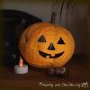 Podzimní Halloweenská dýně z papíru