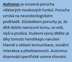 Autismus rámeček