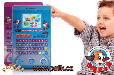 Tablet s připojením k TV CHYTRÝ ŠIKULKA s Pafinkou